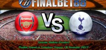 Prediksi Arsenal vs Tottenham Hotspur 18 November 2017