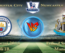 Prediksi Bola Manchester City vs Newcastle United 21 Januari 2018
